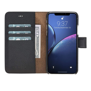 Florence RFID Blocking Leather Wallet Case for iPhone XS