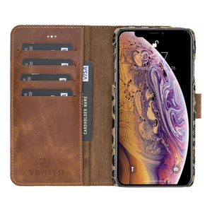 Florence RFID Blocking Leather Wallet Case for iPhone XS Max