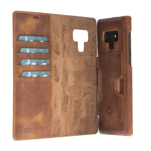 Florence RFID Blocking Leather Wallet Case for Samsung Galaxy Note 9