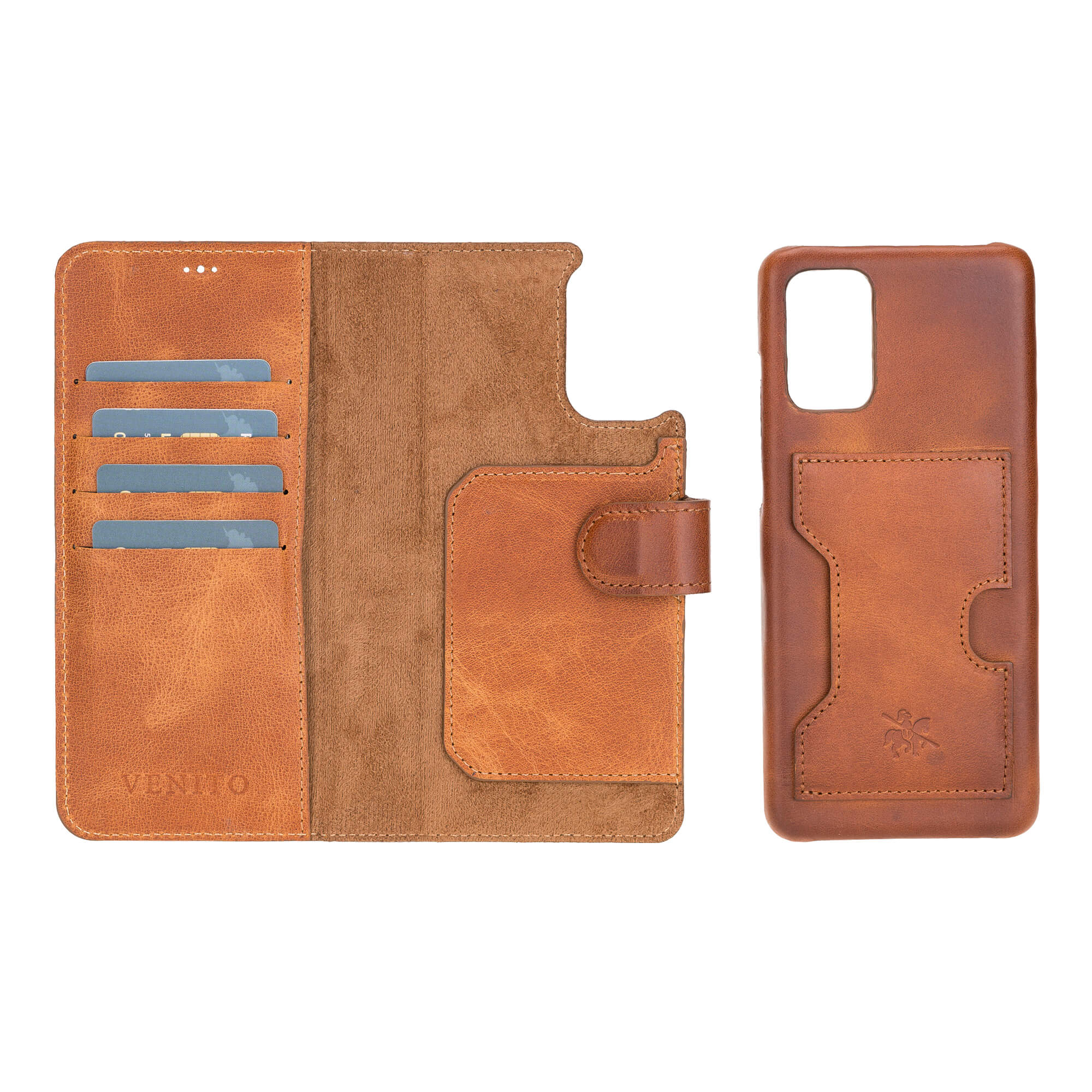 Florence RFID Blocking Leather Wallet Case for Samsung Galaxy S20 Plus
