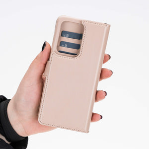 Florence RFID Blocking Leather Wallet Case for Samsung Galaxy S20 Ultra