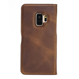 Florence RFID Blocking Leather Wallet Case for Samsung Galaxy S9