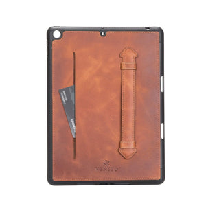 Lecce Leather Wallet Case for iPad 10.2 2020