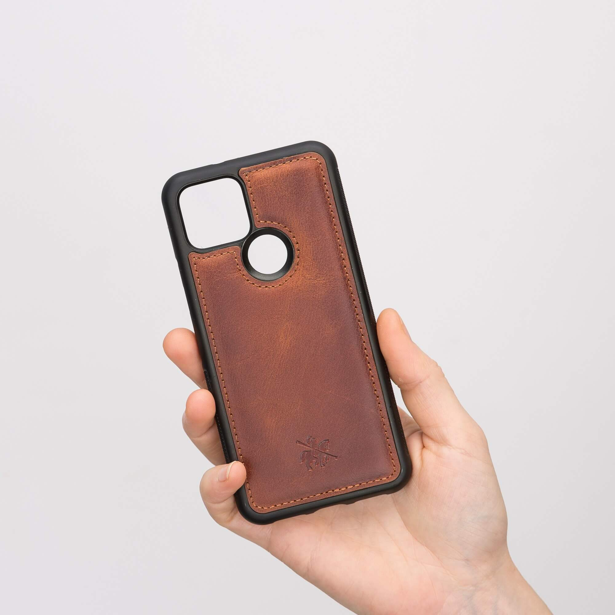 Lucca Snap On Leather Case for Google Pixel 5