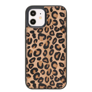 Lucca Snap On Leather Case for iPhone 12