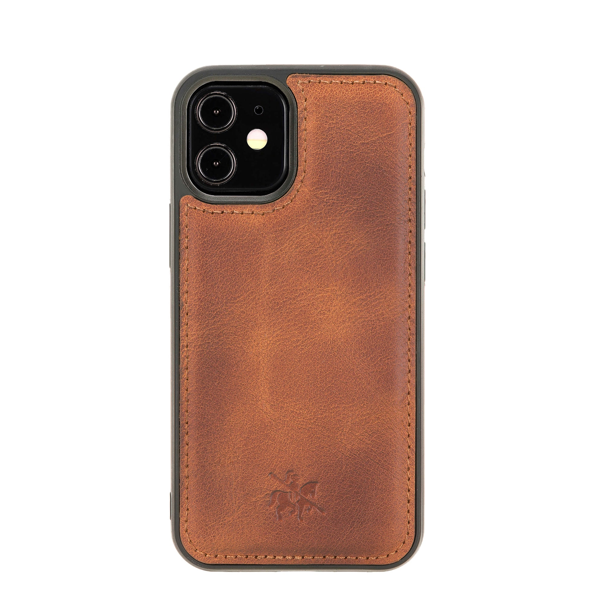 Lucca Snap On Leather Case for iPhone 12 Mini