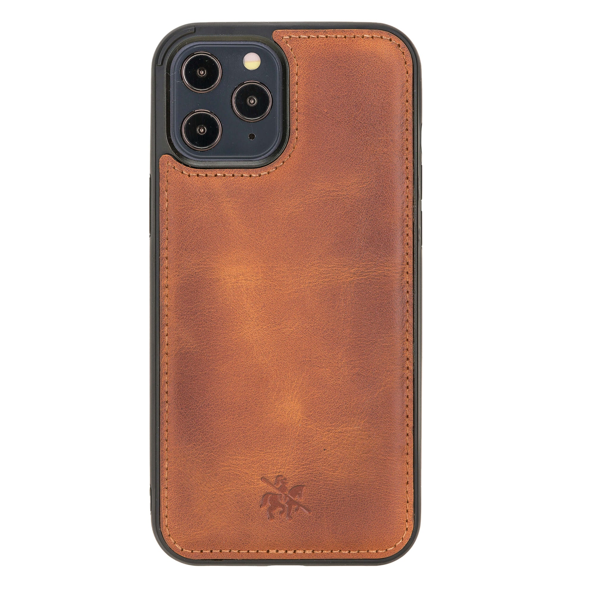 Lucca Snap On Leather Case for iPhone 12 Pro Max