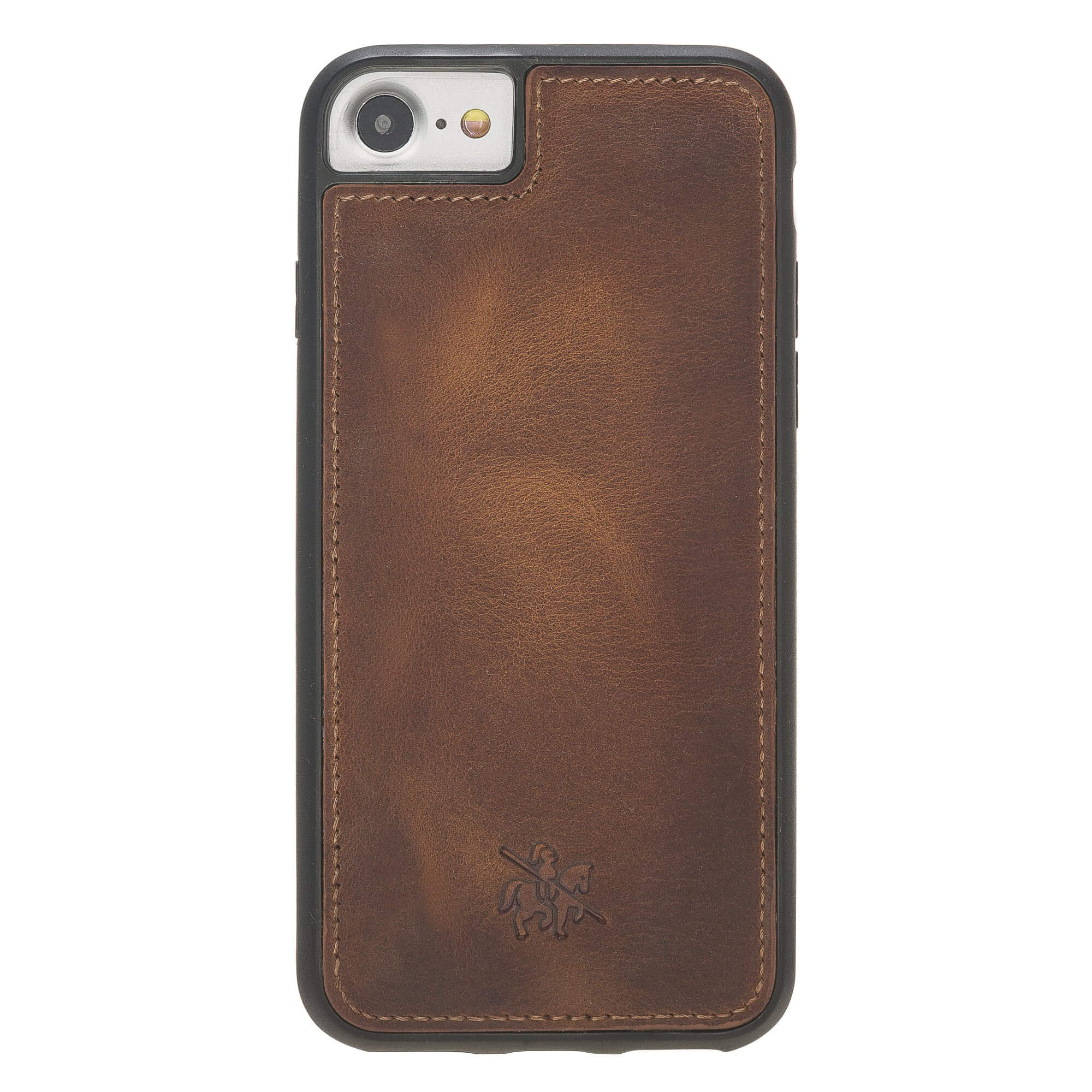 Lucca Snap On Leather Case for iPhone 8