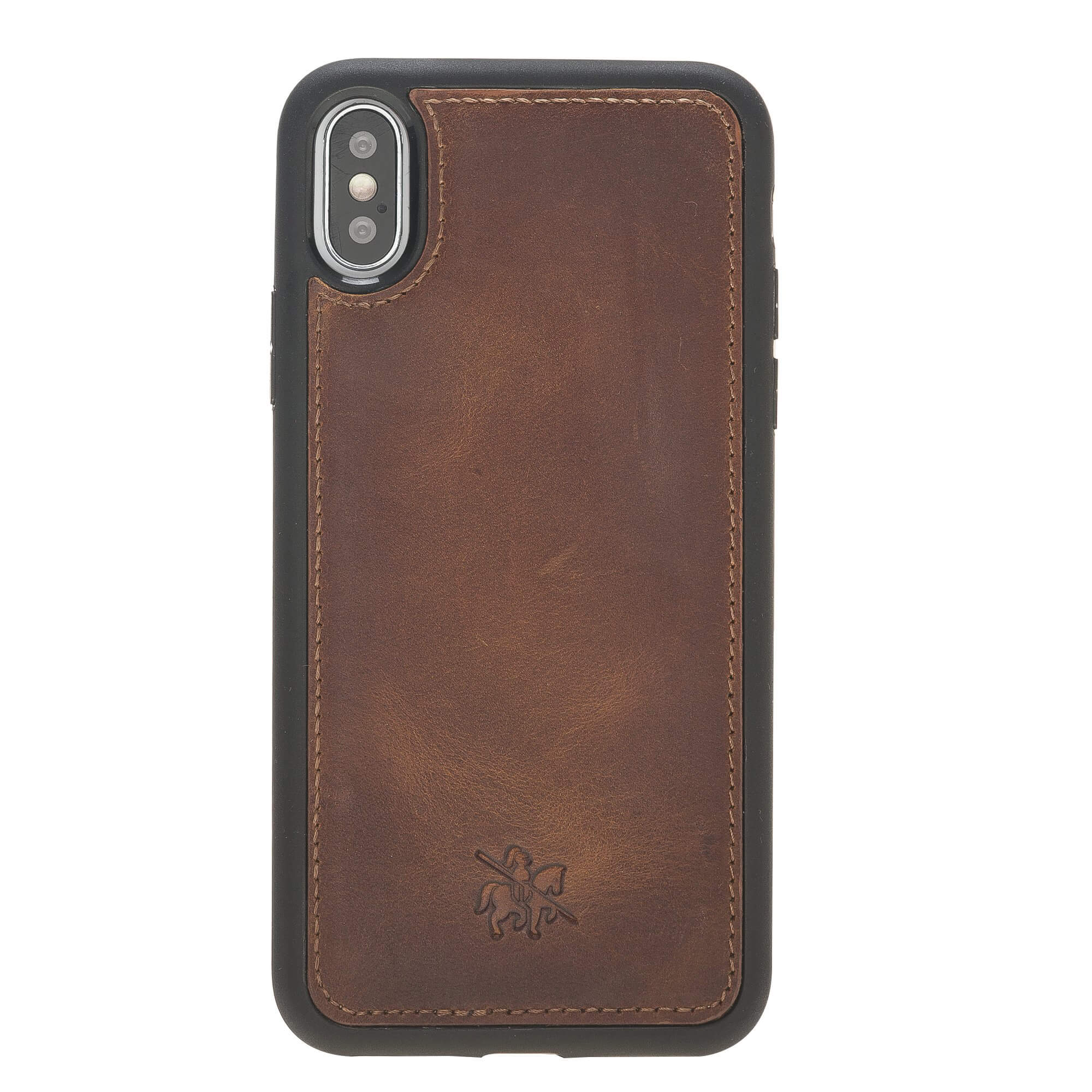 Lucca Snap On Leather Case for iPhone X