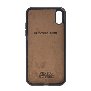 Lucca Snap On Leather Case for iPhone XR