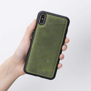 Lucca Snap On Leather Case for iPhone XS Max