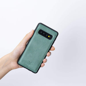Lucca Snap On Leather Case for Samsung Galaxy S10