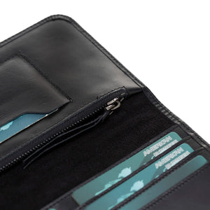 Modena Leather Multifunctional Travel Wallet