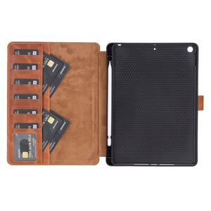 Parma Leather Wallet Case for iPad 10.2 inch