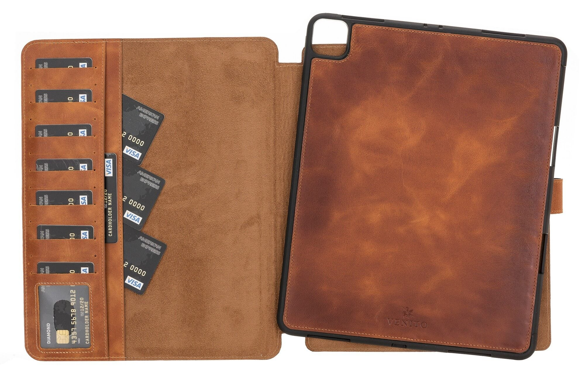 Parma Leather Wallet Case for iPad Pro 12.9 2020