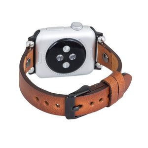 Perugia Leather Slim Band Strap for Apple Watch