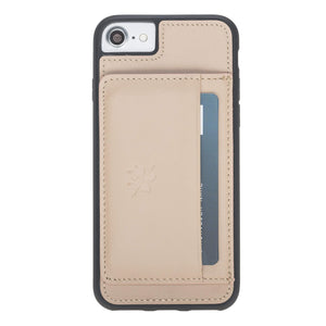 Pisa Snap On Leather Wallet Case with Stand for iPhone 7