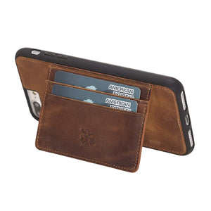 Pisa Snap On Leather Wallet Case with Stand for iPhone 7 Plus