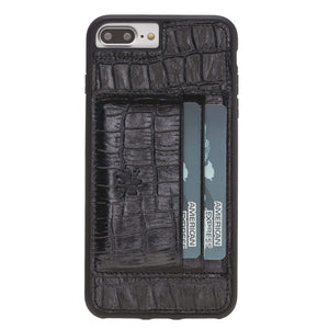 Pisa Snap On Leather Wallet Case with Stand for iPhone 8 Plus