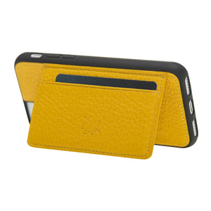 Pisa Snap On Leather Wallet Case with Stand for iPhone SE 2020