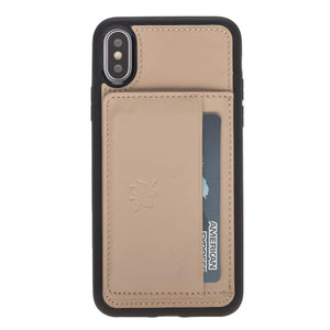Pisa Snap On Leather Wallet Case with Stand for iPhone X