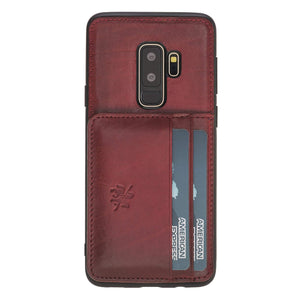 Pisa Snap On Leather Wallet Case with Stand for Samsung Galaxy S9 Plus