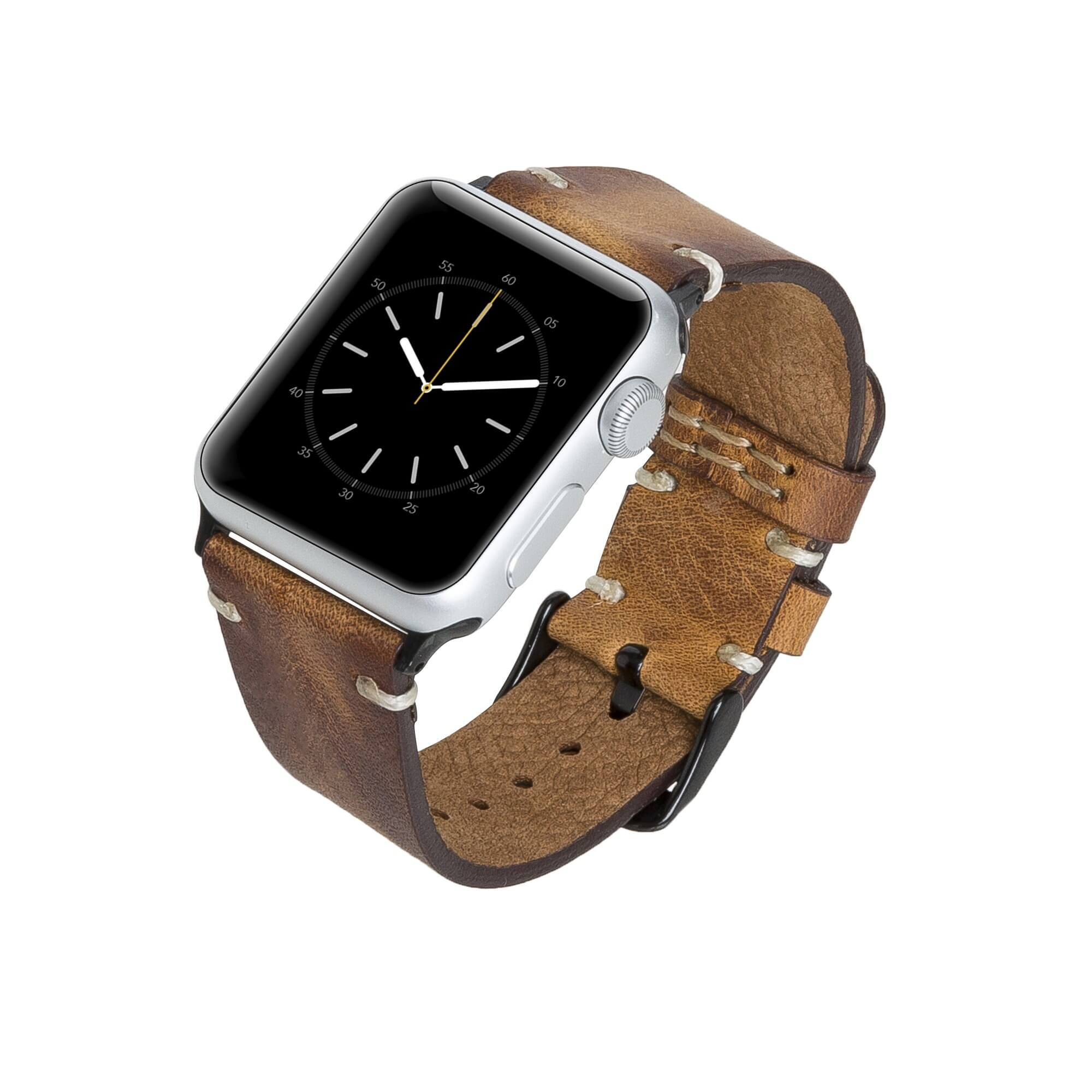 Sarno Leather Band Strap for Apple Watch