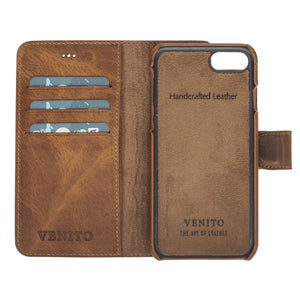 Siena RFID Blocking Leather Wallet Case for iPhone 8