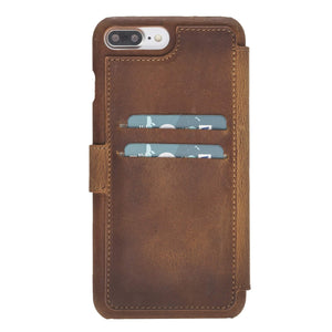 Siena RFID Blocking Leather Wallet Case for iPhone 8 Plus