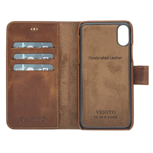 Siena RFID Blocking Leather Wallet Case for iPhone X