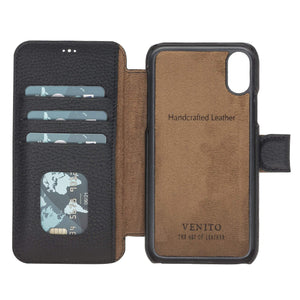 Siena RFID Blocking Leather Wallet Case for iPhone XS