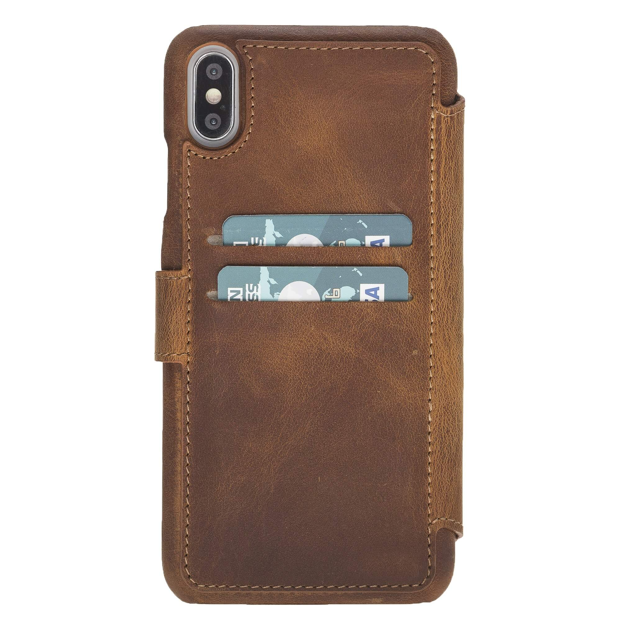 Siena RFID Blocking Leather Wallet Case for iPhone XS Max