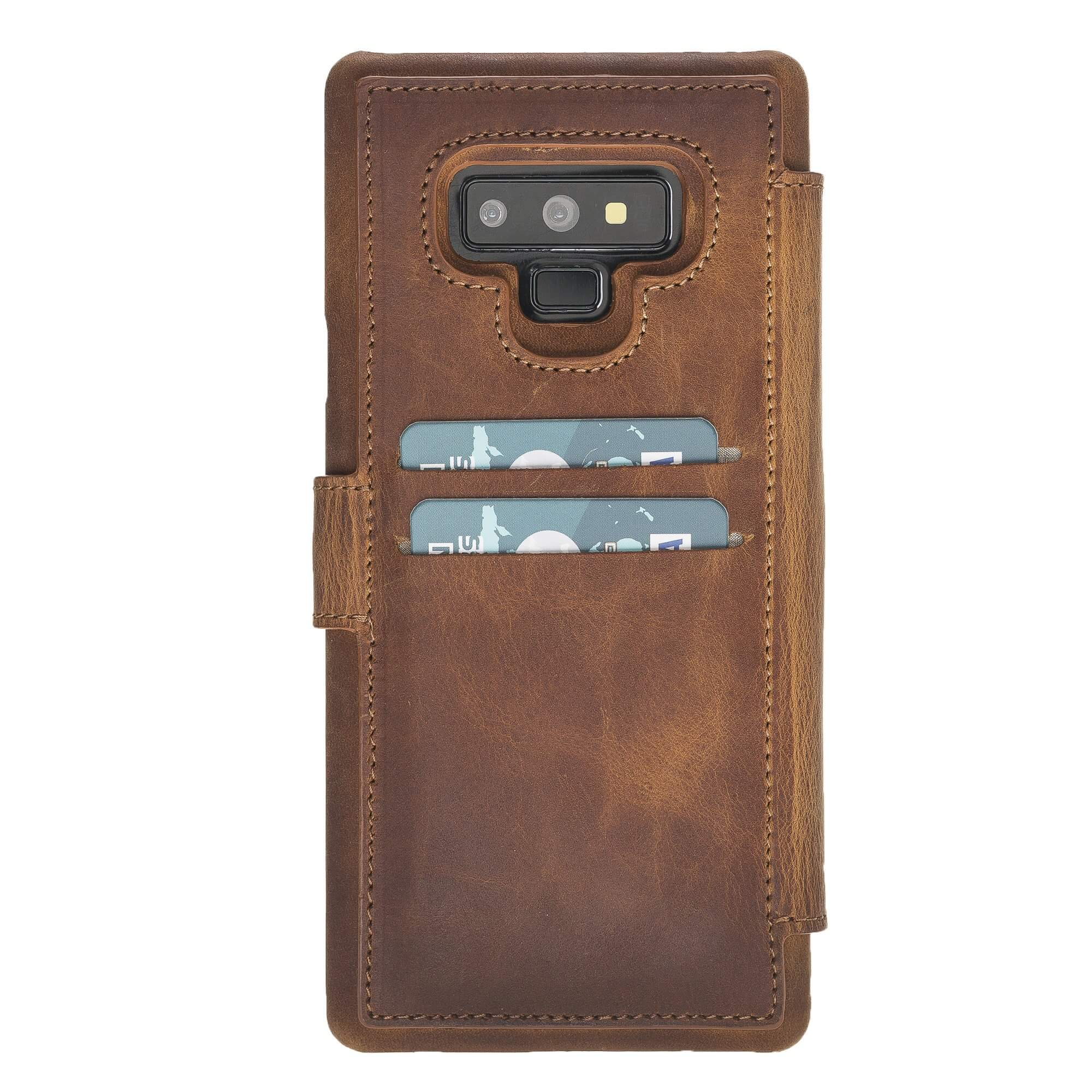 Siena RFID Blocking Leather Wallet Case for Samsung Galaxy Note 9