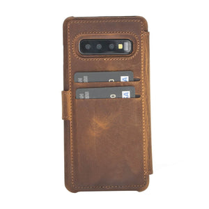Siena RFID Blocking Leather Wallet Case for Samsung Galaxy S10
