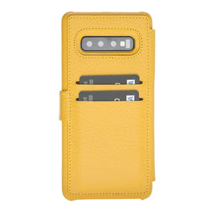 Siena RFID Blocking Leather Wallet Case for Samsung Galaxy S10 Plus