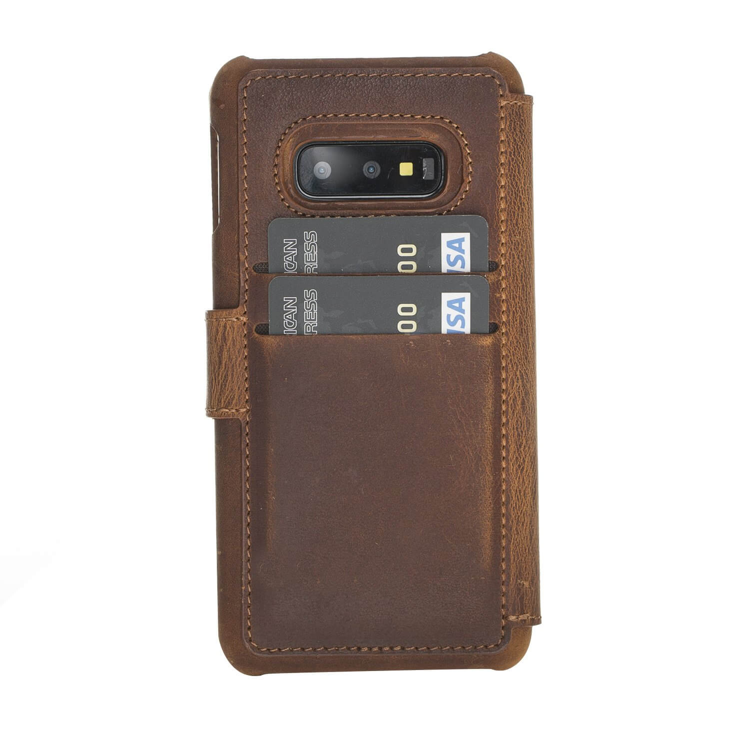 Siena RFID Blocking Leather Wallet Case for Samsung Galaxy S10e