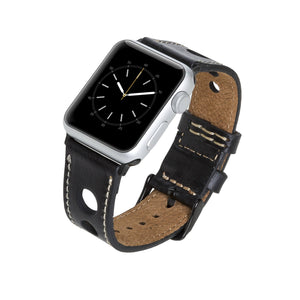 Taranto Leather Band Strap for Apple Watch