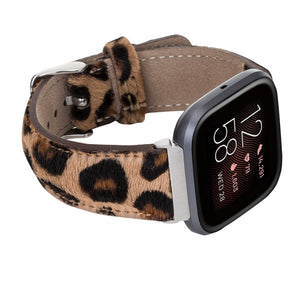 Tuscany Leather Watch Band for Fitbit Versa
