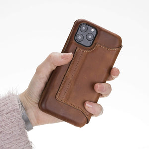 Venice RFID Blocking Leather Wallet Stand Case for iPhone 11 Pro