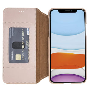Venice RFID Blocking Leather Wallet Stand Case for iPhone 11 Pro Max