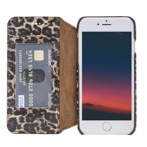 Venice RFID Blocking Leather Wallet Stand Case for iPhone 8