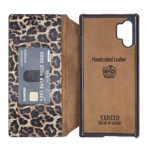 Venice RFID Blocking Leather Wallet Stand Case for Samsung Galaxy Note 10 Plus