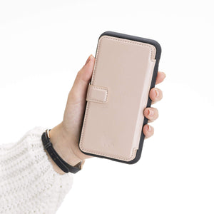 Verona RFID Blocking Leather Slim Wallet Case for iPhone 11