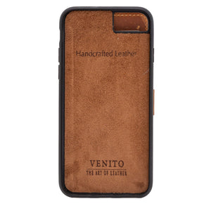 Verona RFID Blocking Leather Slim Wallet Case for iPhone SE 2020