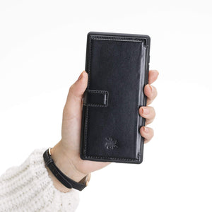Verona RFID Blocking Leather Slim Wallet Case for Samsung Galaxy Note 10