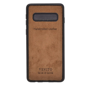 Verona RFID Blocking Leather Slim Wallet Case for Samsung Galaxy S10