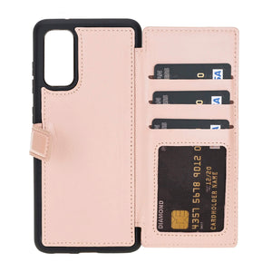 Verona RFID Blocking Leather Slim Wallet Case for Samsung Galaxy S20