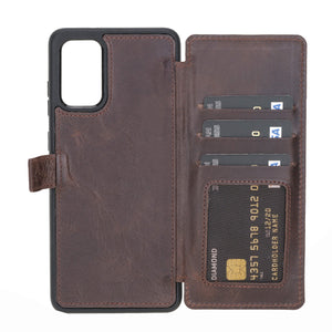 Verona RFID Blocking Leather Slim Wallet Case for Samsung Galaxy S20 Plus