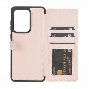 Verona RFID Blocking Leather Slim Wallet Case for Samsung Galaxy S20 Ultra