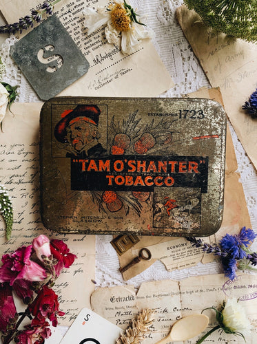 Vintage Tam'o Tin with Narrative